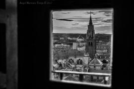 2017 11 10 La Catedral desde una ventana del Alcazar