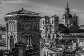 2017 11 26 Iglesia de San Ildefonso desde el Alcazar