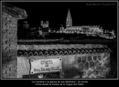 2020 04 11 - 0017 La Catedral y la Iglesia de San Ildefonso desde Ermita Valle