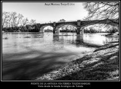 2020 04 15 - 0020 Puente de la antigua via ferrea Toledo Bargas