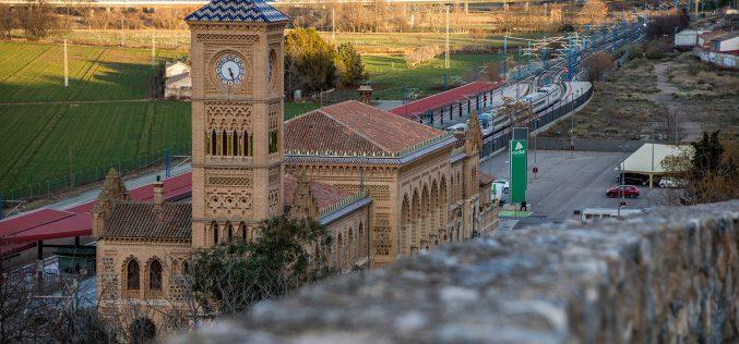 Paseo Fotográfico por Santa Bárbara – 4 de Enero 2018 – Estación de Ferrocarril y atardecer sobre el Alcázar