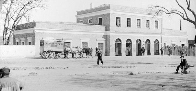 La primera Estación de Ferrocarril de Toledo
