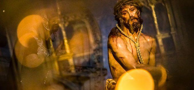 Reportaje Fotográfico – El Cristo de la Humildad antes de la Procesión del Miércoles Santo