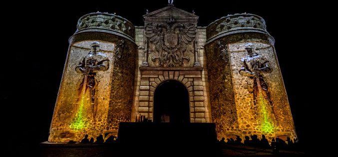 Reportaje Fotográfico – Memoria y Concordia (Mapping Puerta de Bisagra)