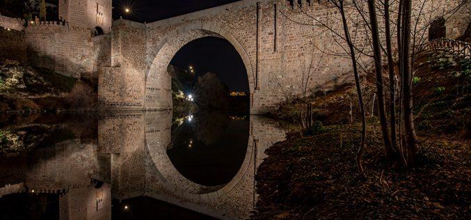 Reportaje Fotográfico – Nueva iluminación del Puente de Alcántara