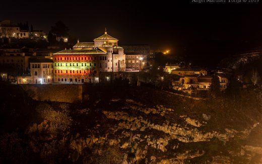 Reportaje Fotográfico – Las Cortes de Castilla la Mancha, de noche