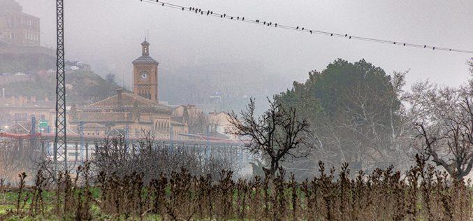 Paseo Fotográfico – La Estación de Ferrocarril, entre nieblas