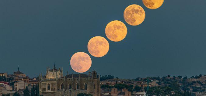 Paseo Fotográfico – Fotomontajes – Luna LLena y Luna de Trueno, del 3, 4 y 5 de Julio de 2020
