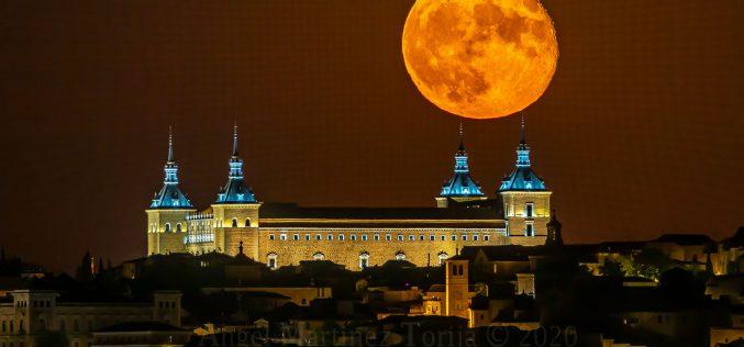Reportaje Fotográfico – La Luna llena Toledana de Agosto de 2020