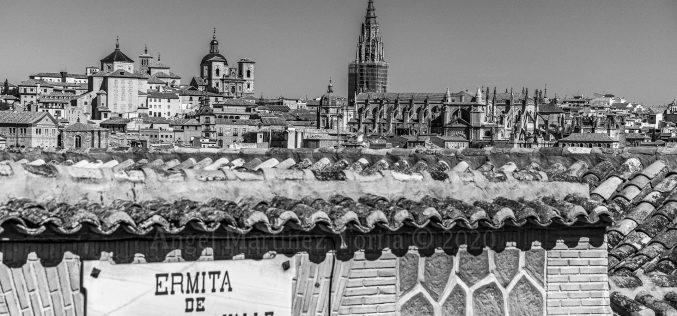 Paseo Fotográfico – Vista de Toledo desde el Mirador del Valle y la Ermita del Valle. Virgen del Valle.