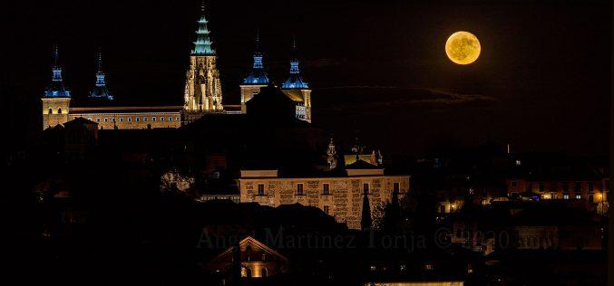 Reportaje Fotográfico – La luna del 3 Octubre 2020, desde los Cigarrales