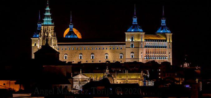 Reportaje Fotográfico – La luna del 5 Octubre 2020, desde cerca de la Ermita de San Jerónimo