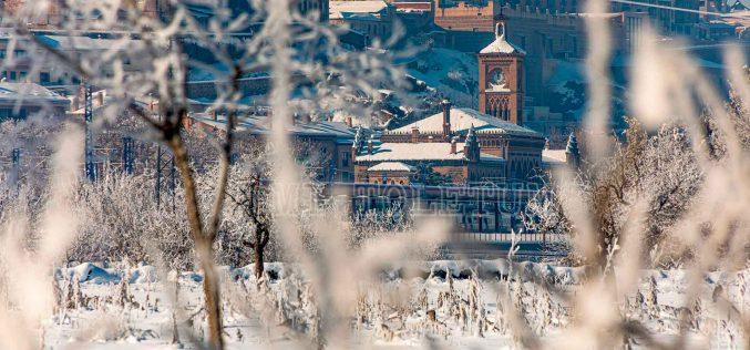 Reportaje Fotográfico – Toledo Nevado. La Estación de Ferrocarril
