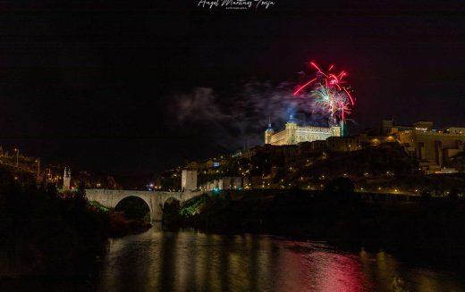 Reportaje Fotográfico – Fuegos artificiales Corpus Christi Toledo 2021