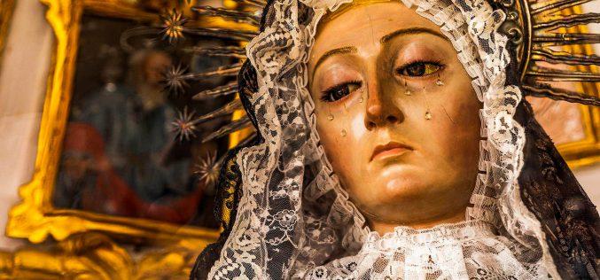 Imaginería Religiosa – Virgen Dolorosa. Convento de Santa Clara